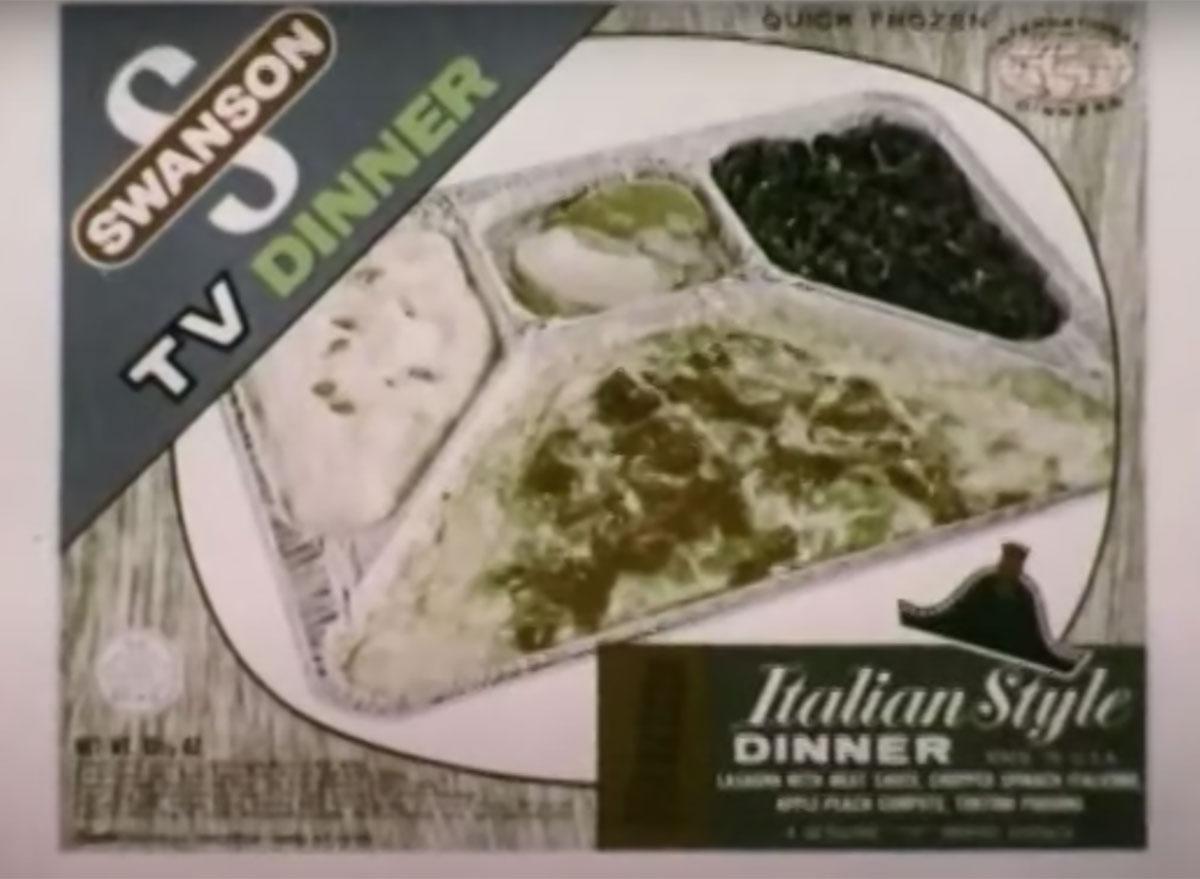 swanson italian style tv dinner
