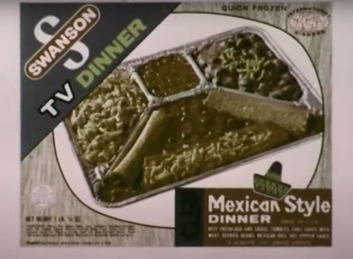 swanson mexican tv dinner