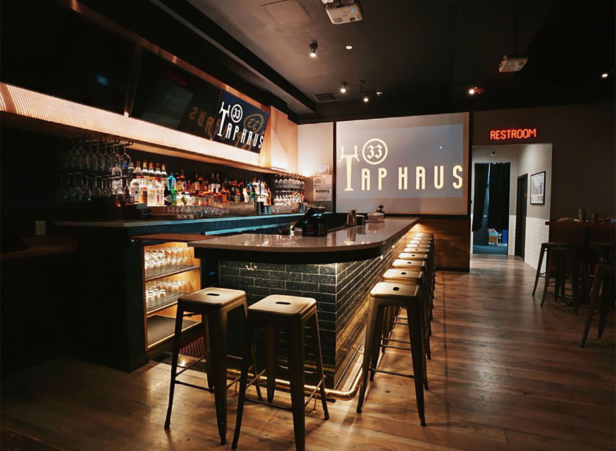 tap haus 33 bar interior new york