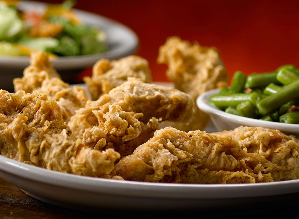 texas roadhouse chicken critters platter