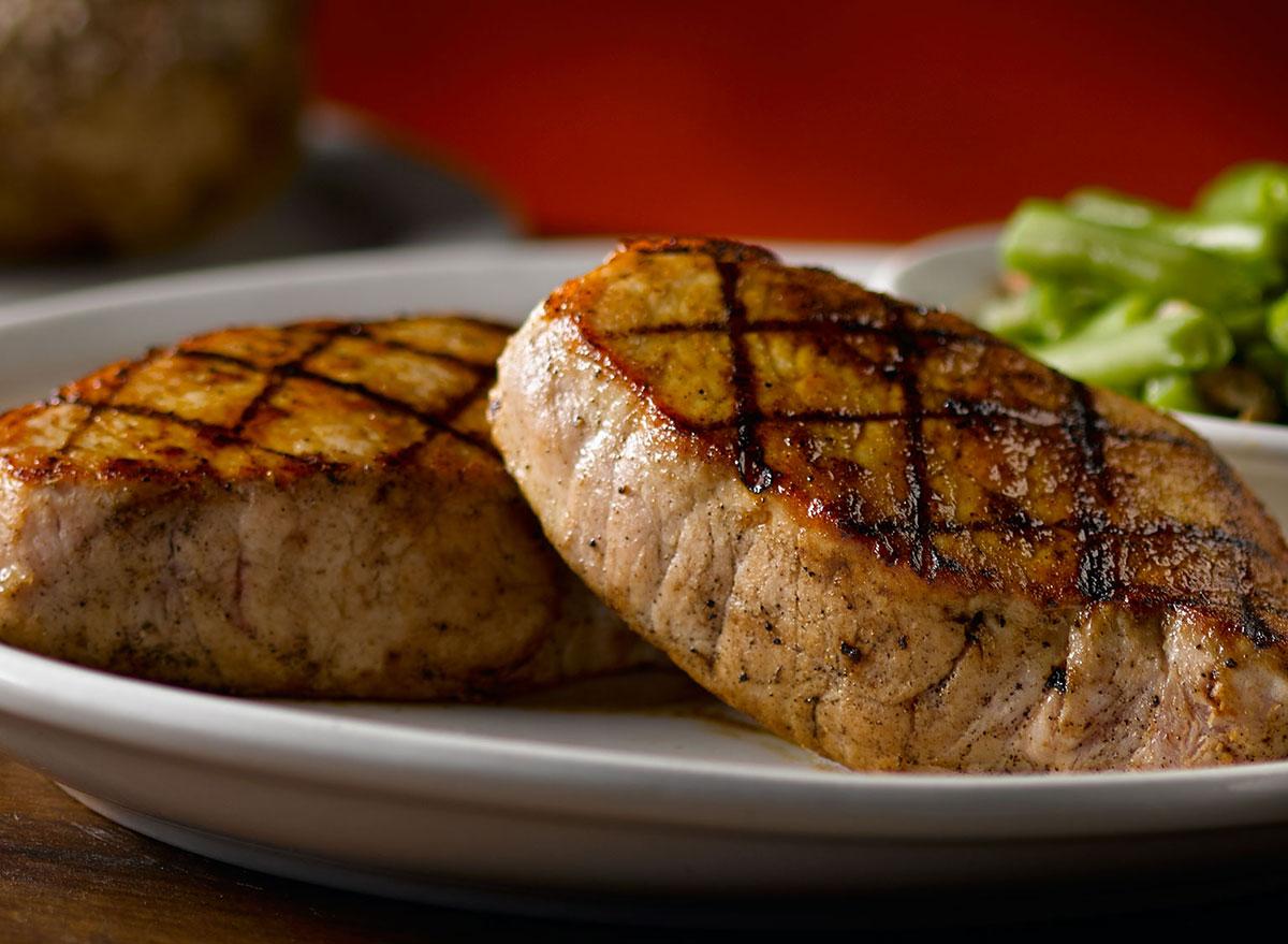 texas roadhouse grilled pork chops