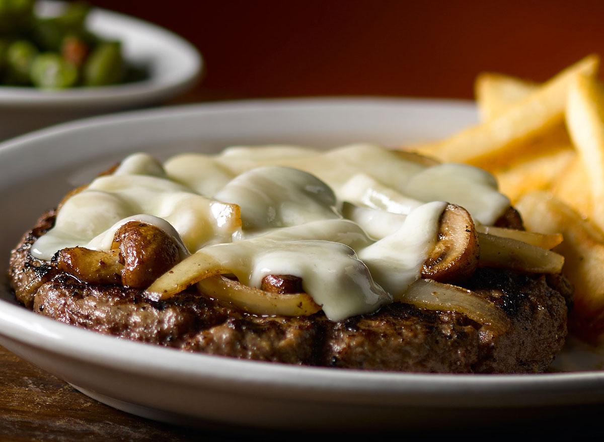 texas roadhouse road kill steak