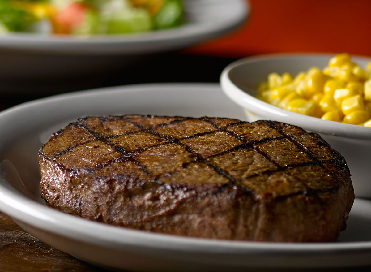 texas roadhouse sirloin early dine menu