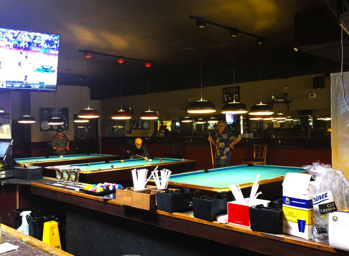 the cue club sports bar virginia