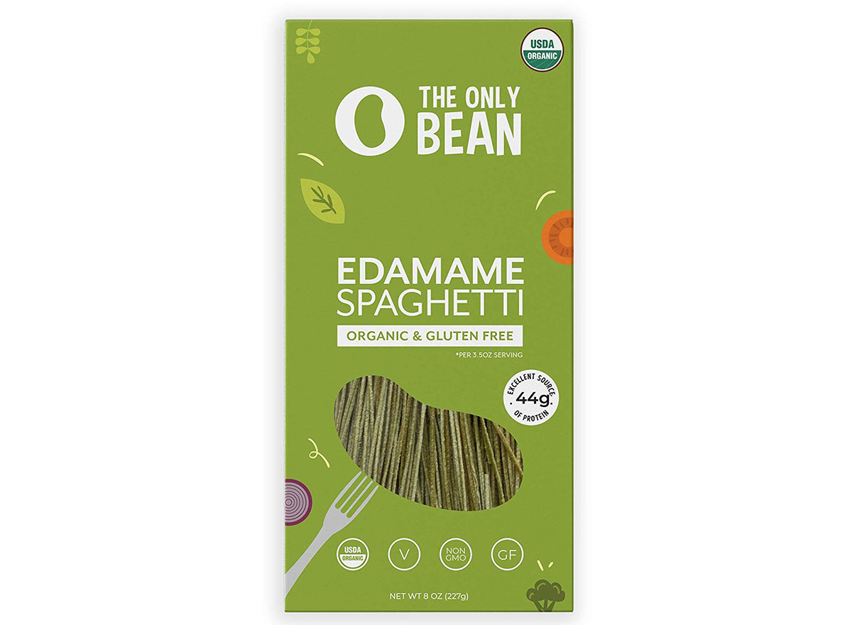 the only bean edamame pasta