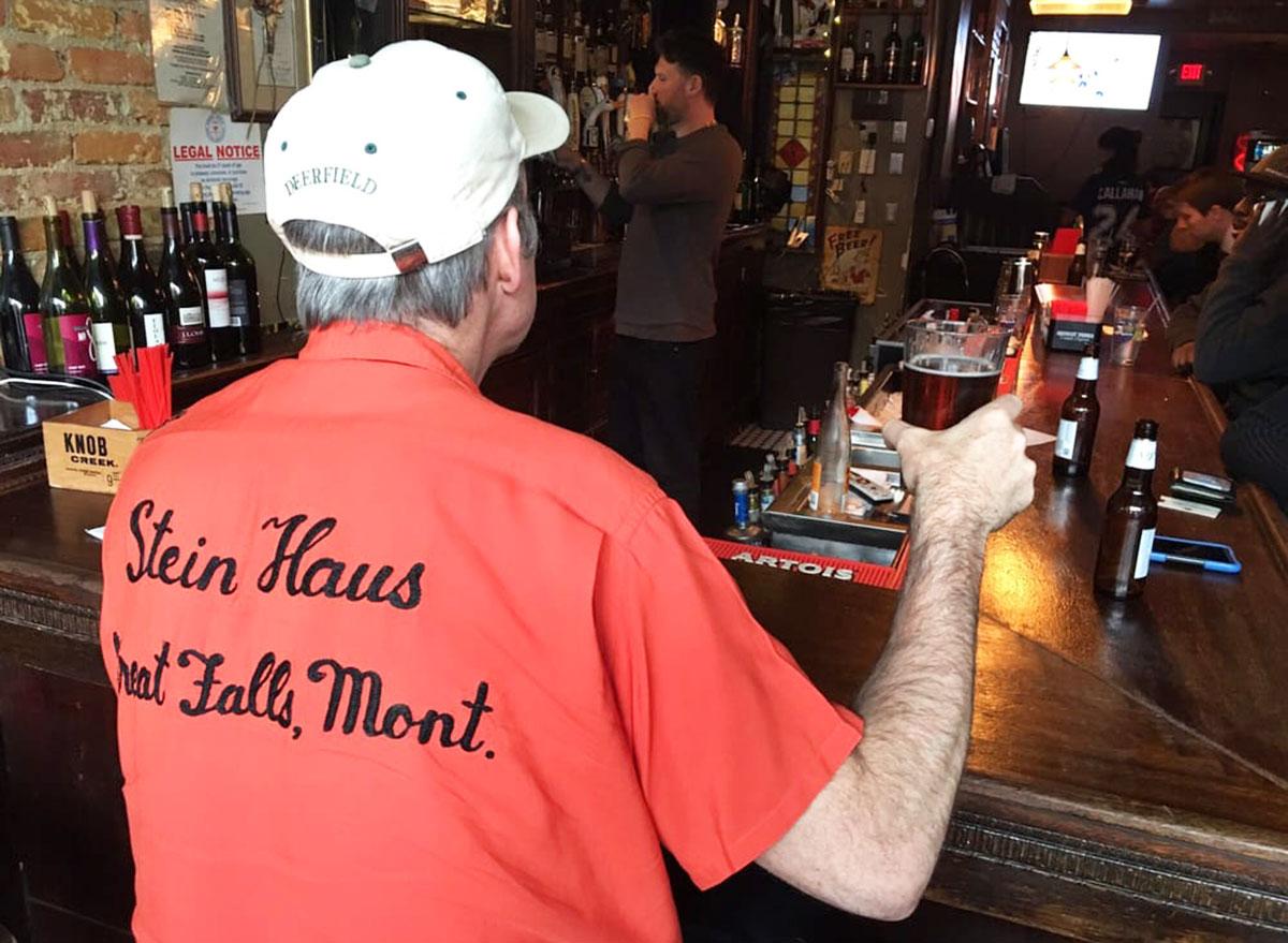 the stein haus sports bar montana