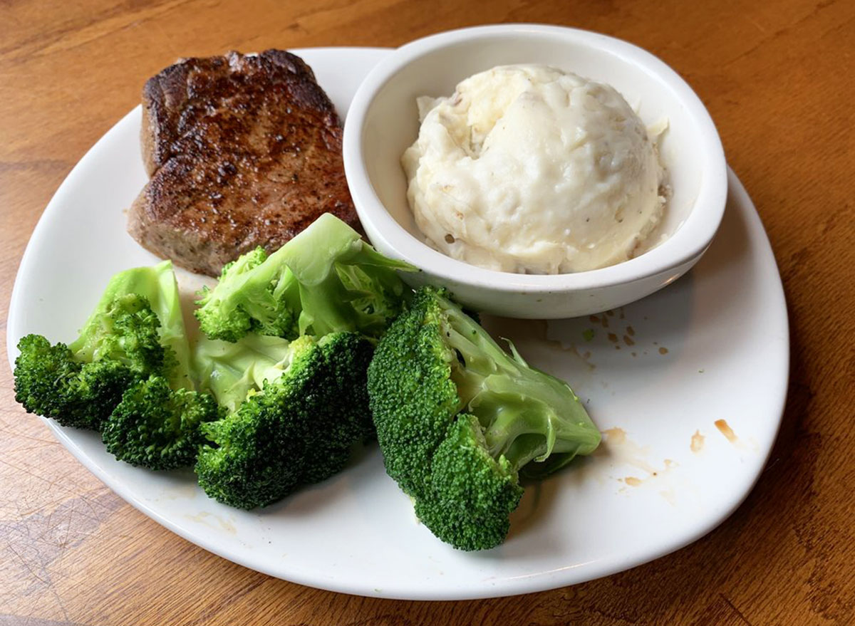 victorias filet mignon from outback steakhouse