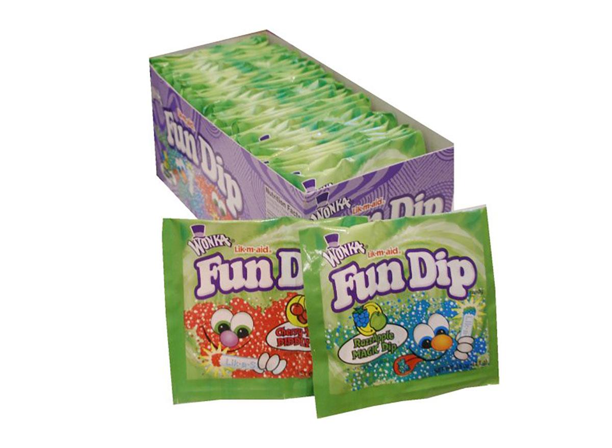 wonka fun dip candy