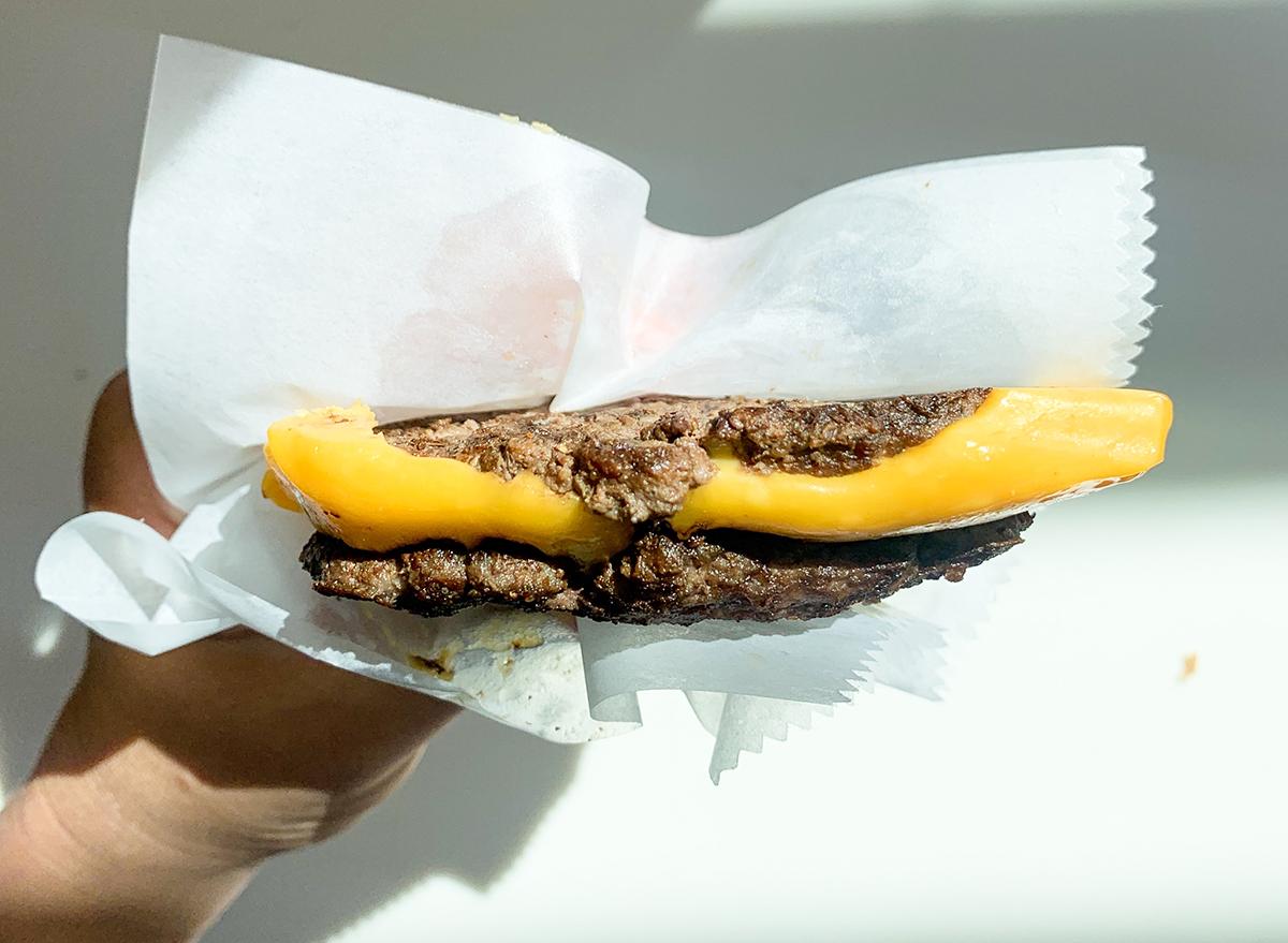 flying dutchman secret menu burger from in n out