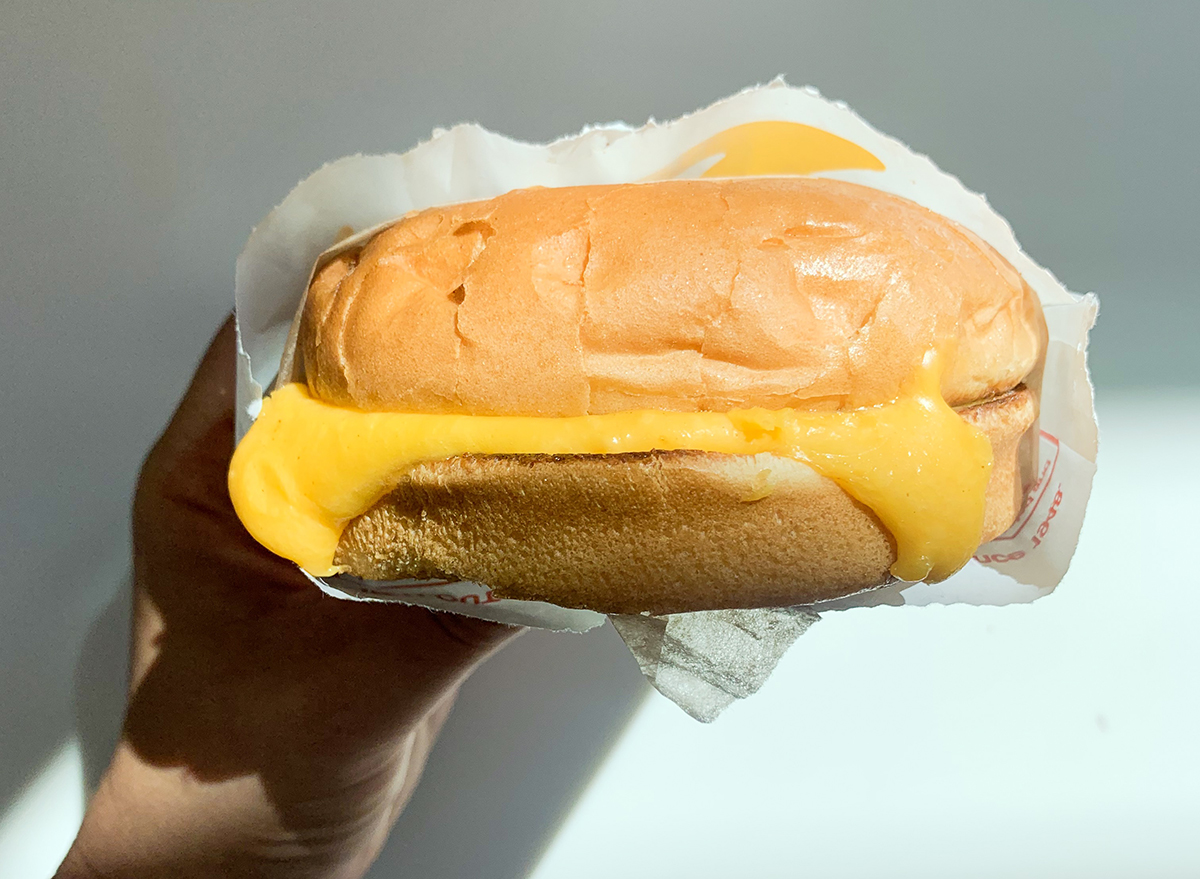 Grilled cheese ordered at In-n-Out