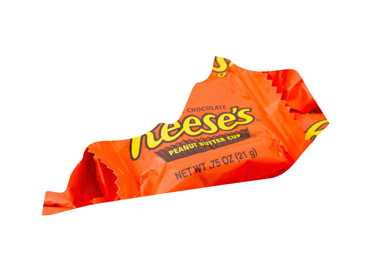 Kentucky's favorite candy bar is Reese's Cups