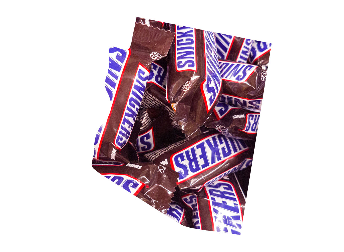Arizona's favorite candy bar is Snickers
