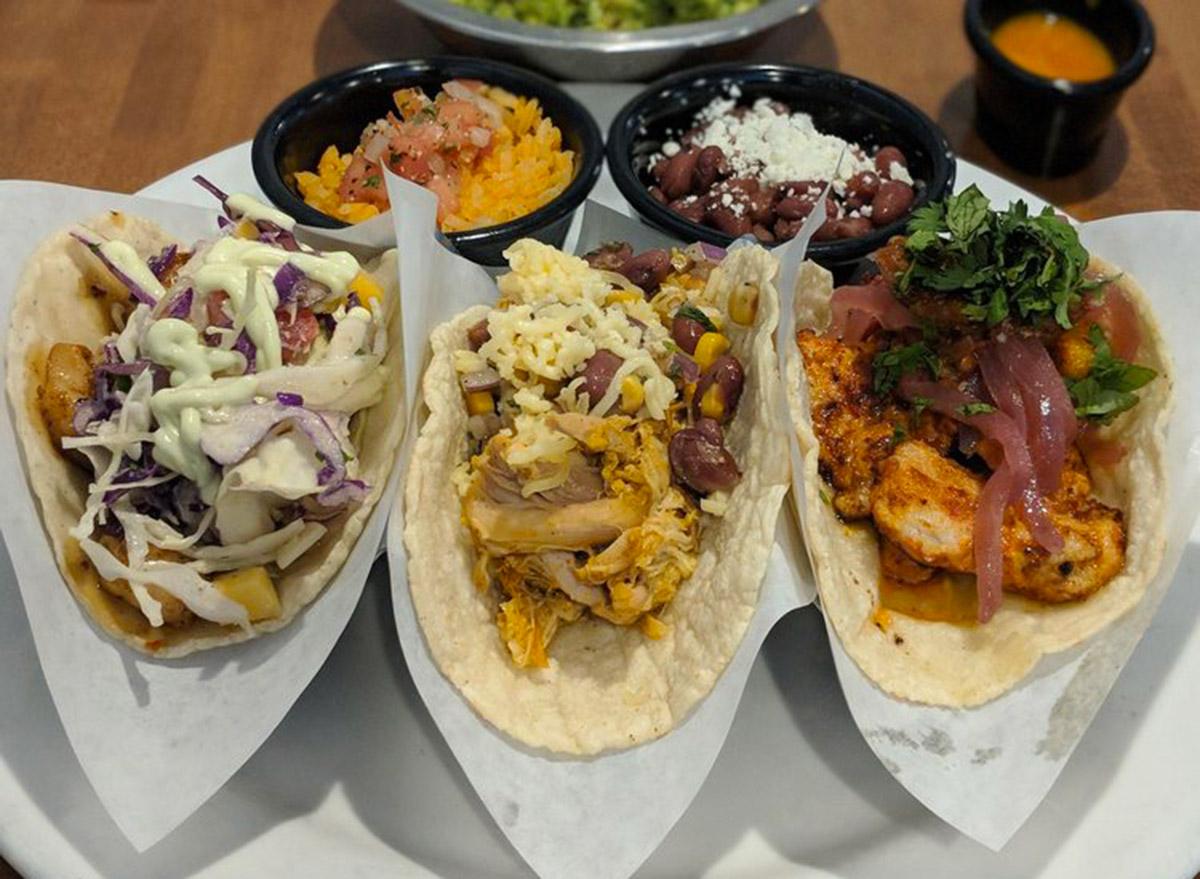 arizona cocina madrigal set of three tacos