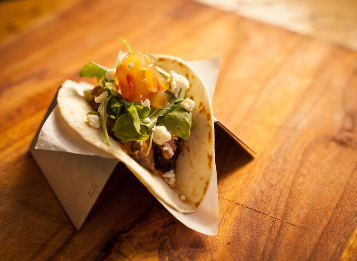 arkansas trickdilly single taco