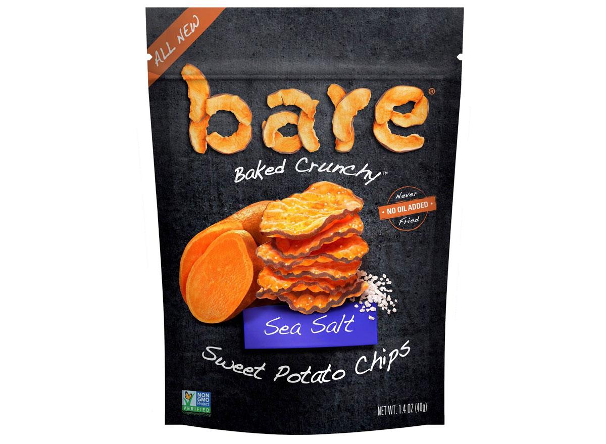 Bare sweet potato snacks