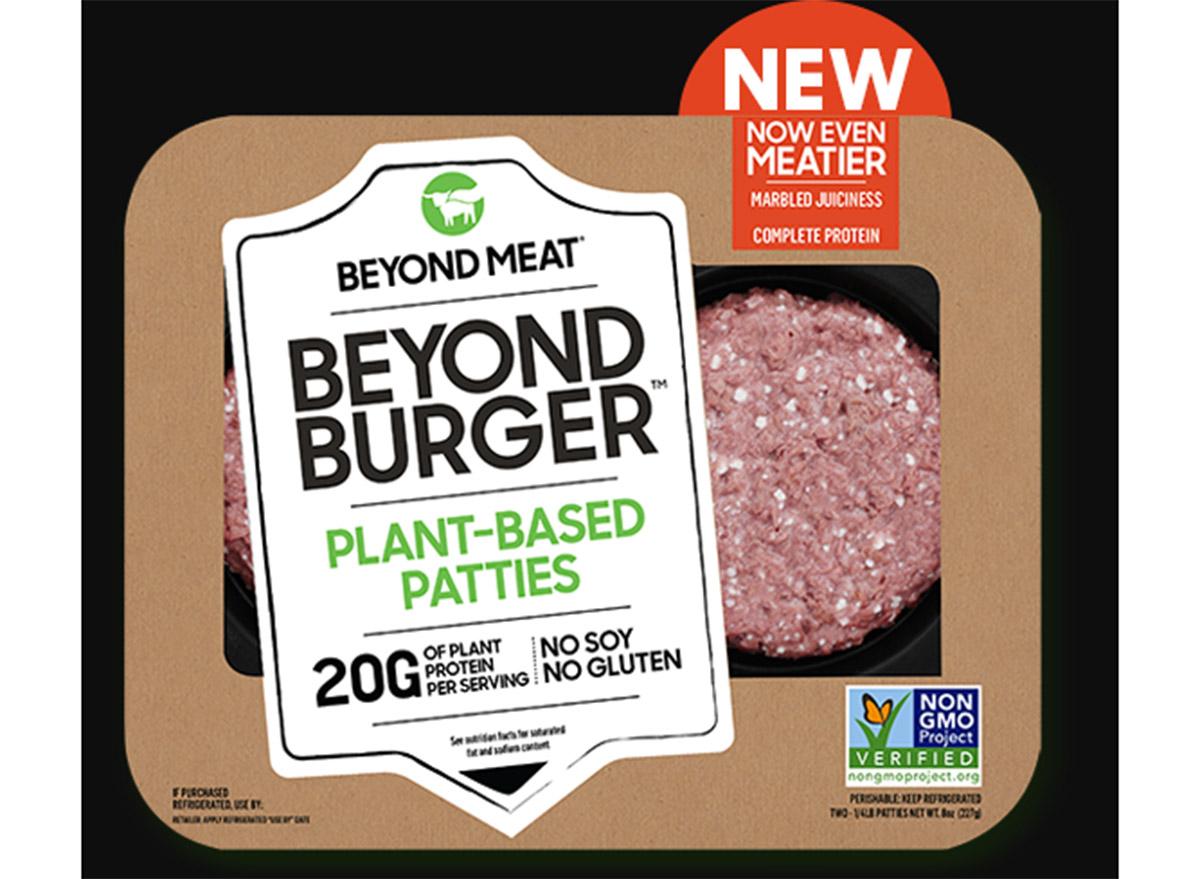 beyond meat beyond burger patties in packaging