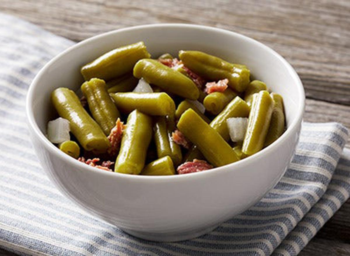bob evans green beans with ham