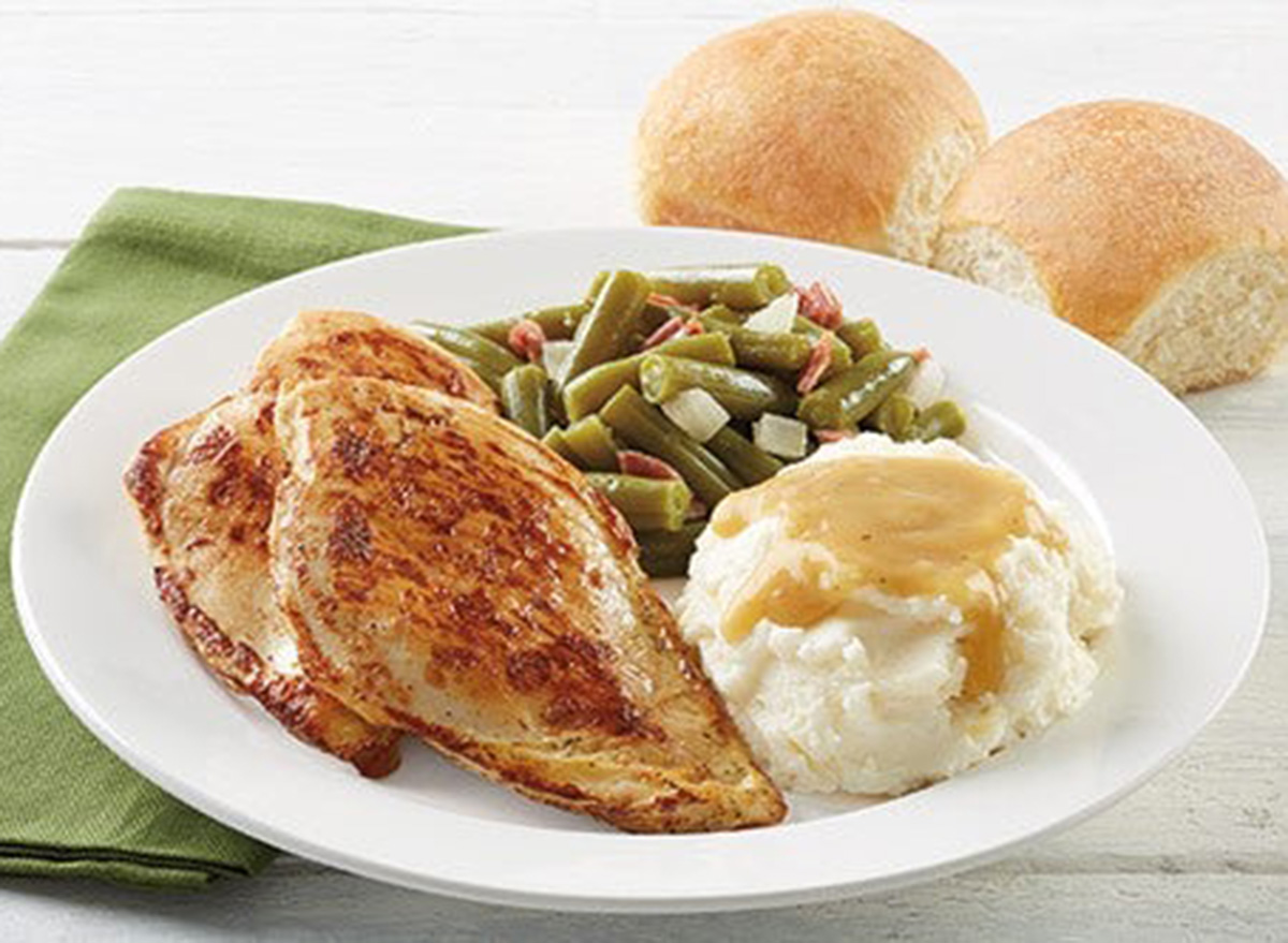 bob evans grilled to perfection chicken