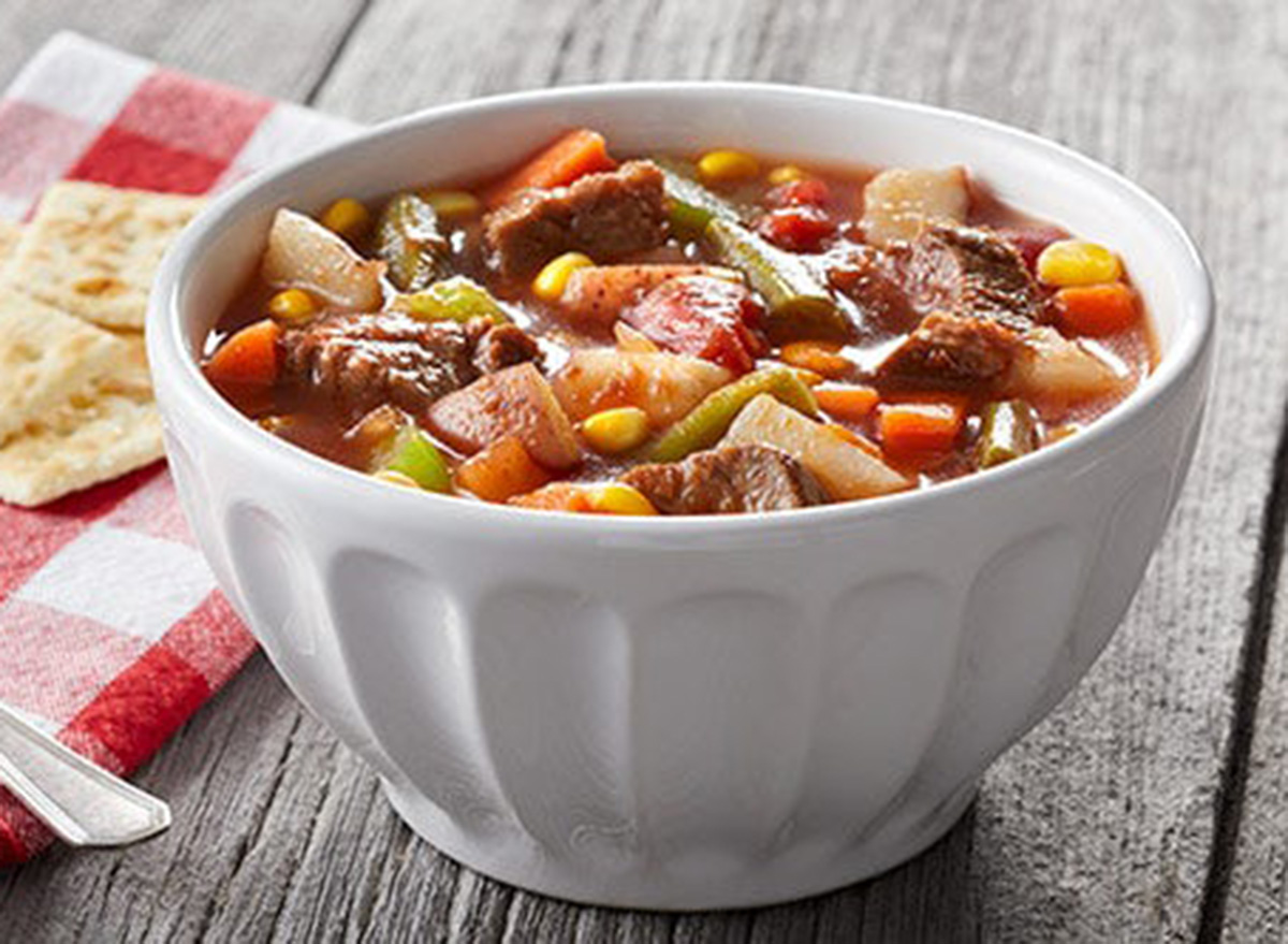 bob evans vegetable beef soup