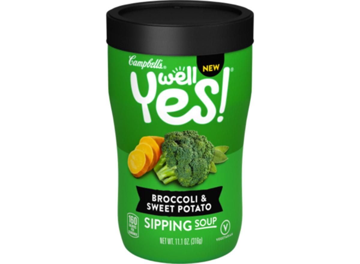 campbells broccoli and sweet potato soup