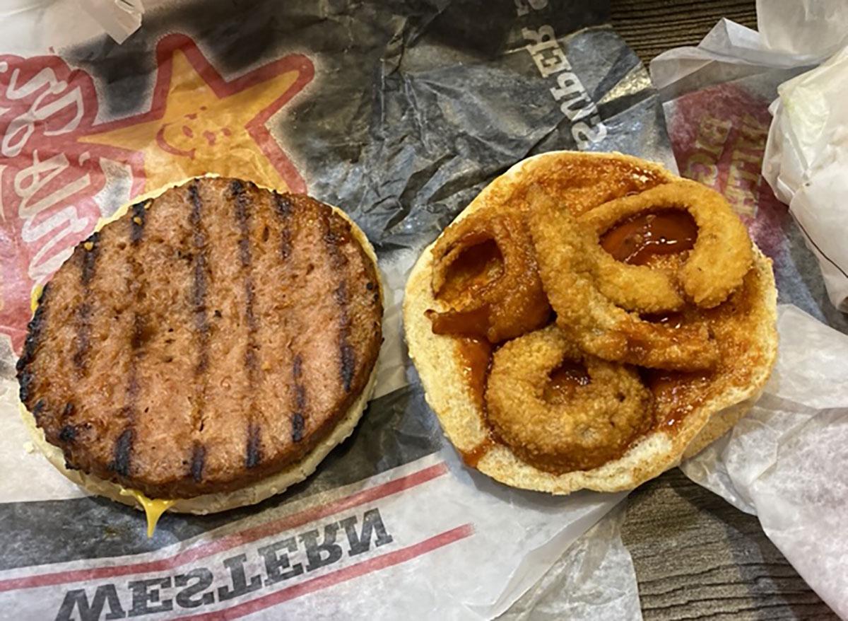carls jr bbq beyond burger