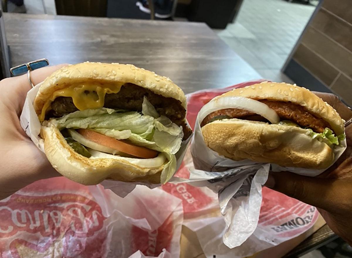 carls jr beyond burger