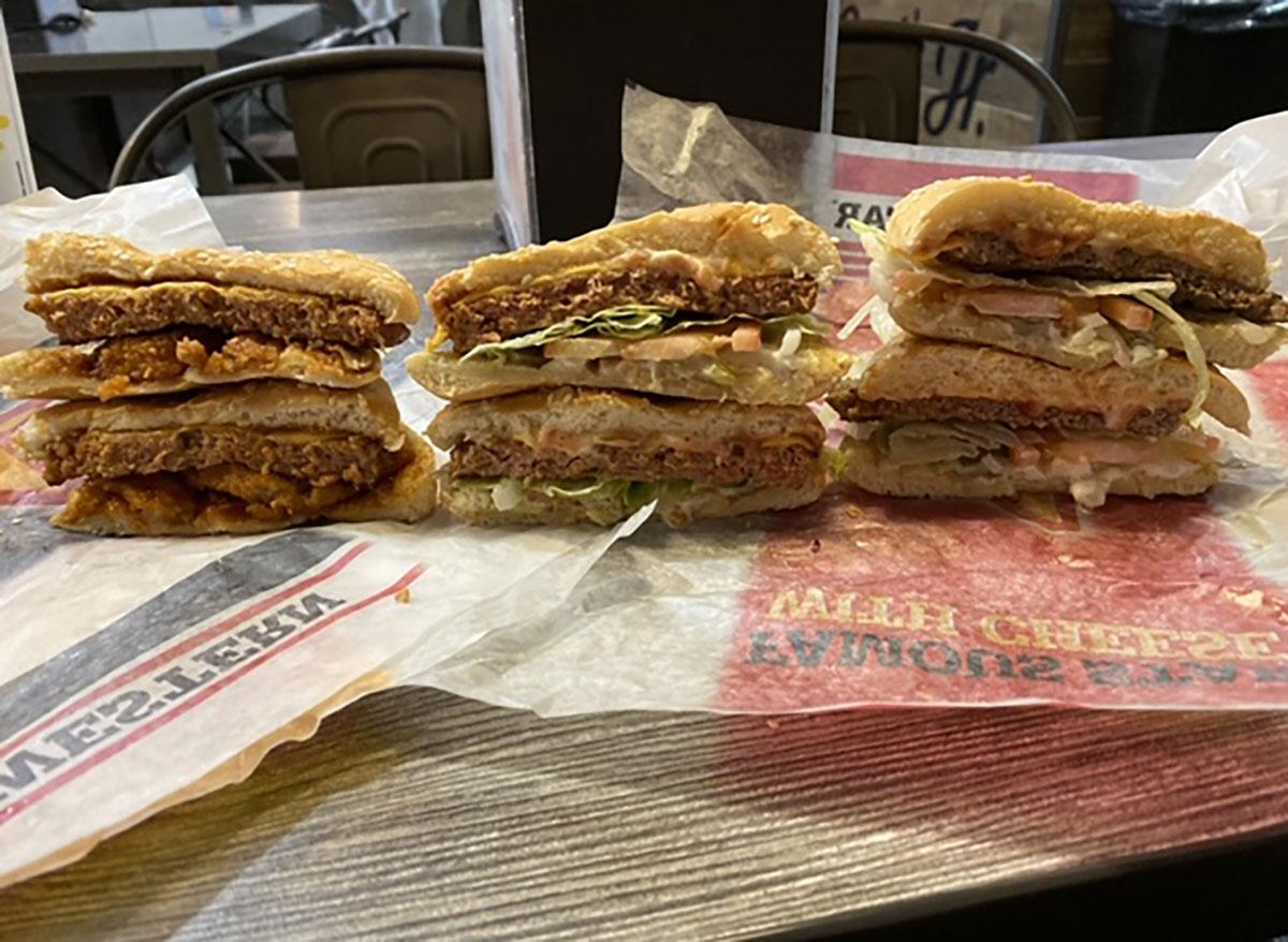 carls jr beyond burgers and regular burger