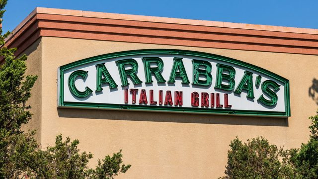 carrabbas italian grill restaurant storefront