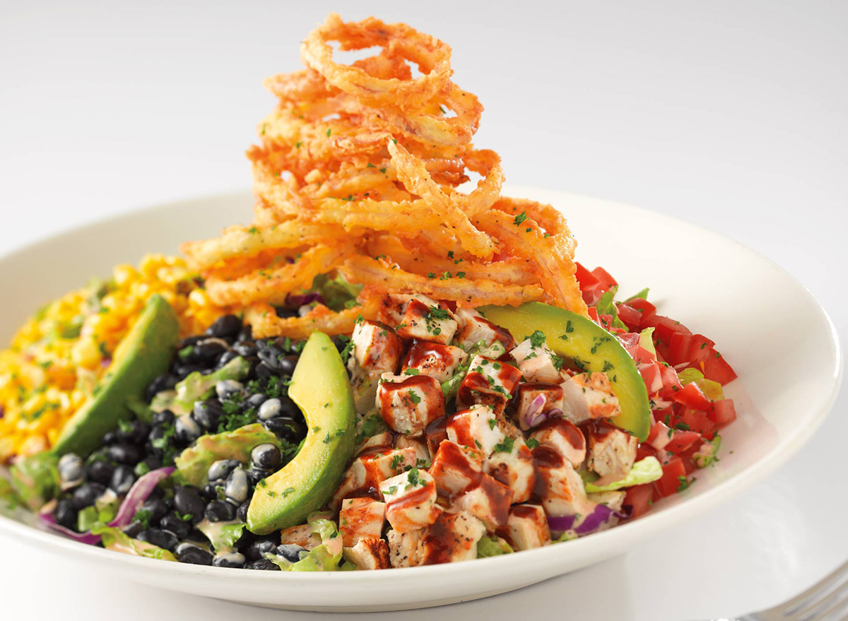 bbq ranch chicken salad from cheesecake factory