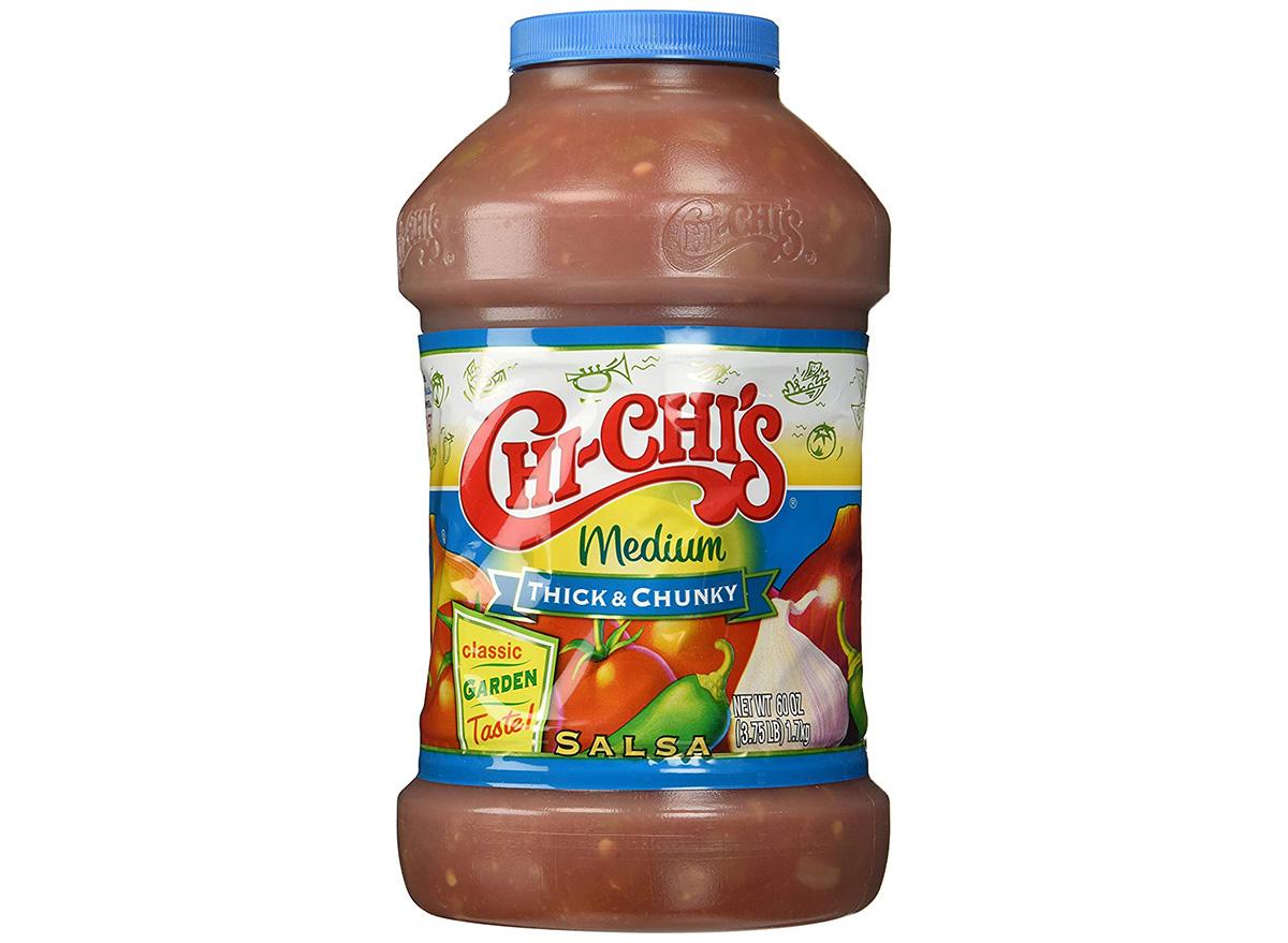 chi chis medium salsa in jar