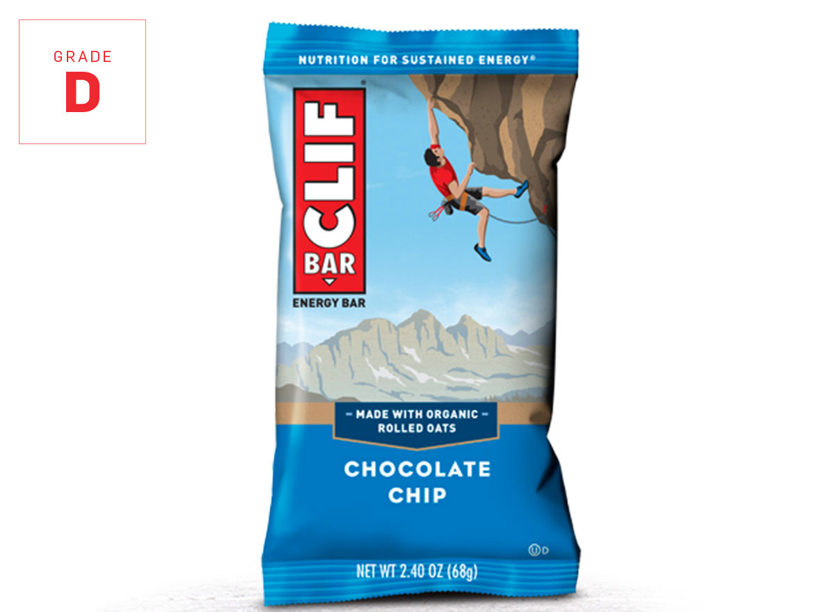 Clif bar chocolate chip graded
