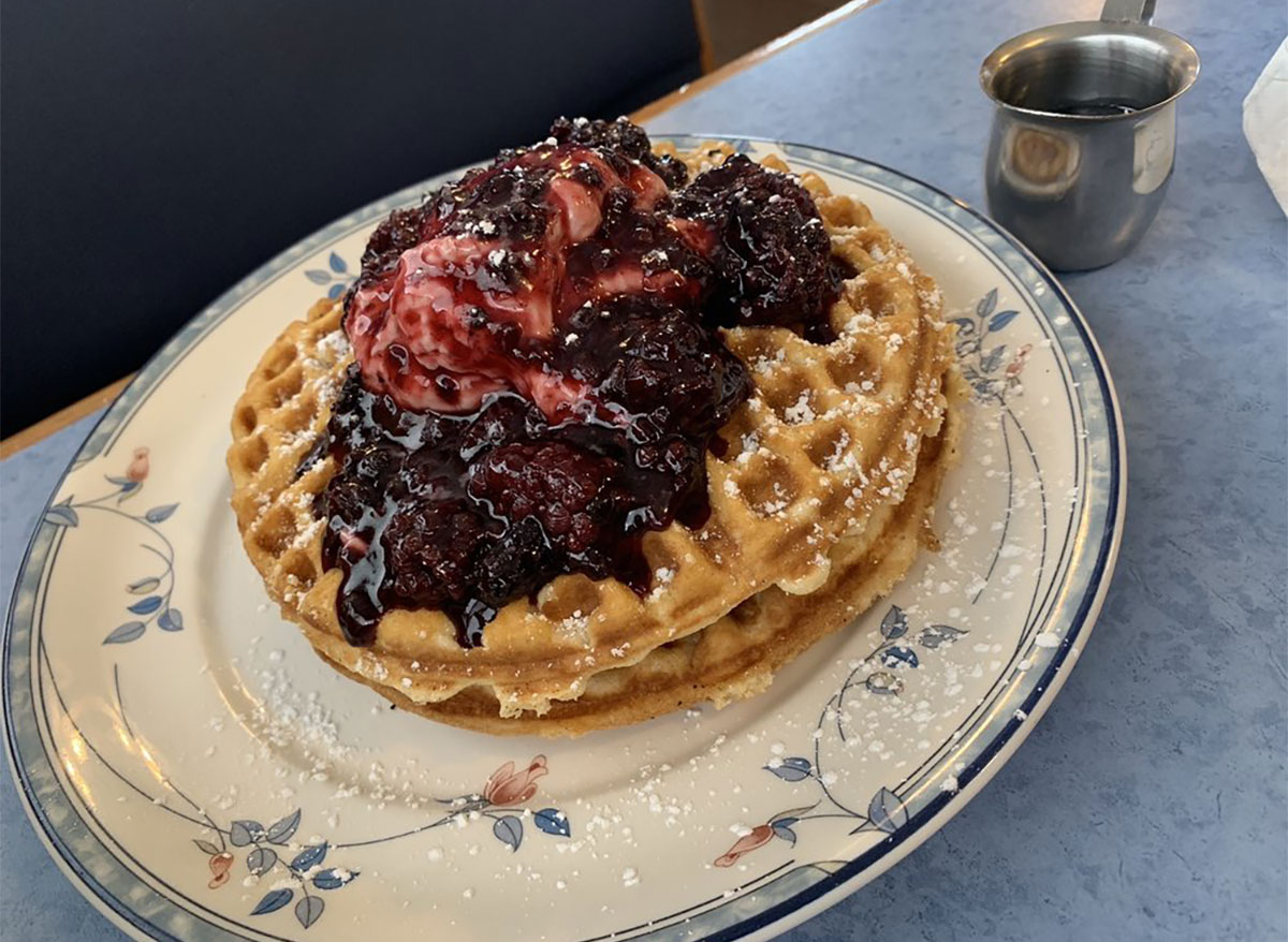 waffles from comfort cafe texas