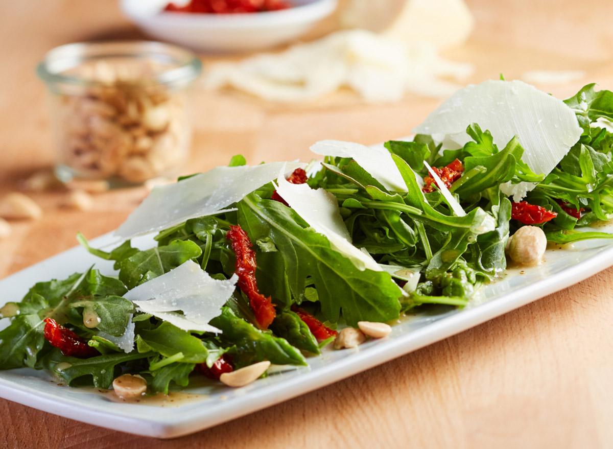 cpk asparagus arugula salad