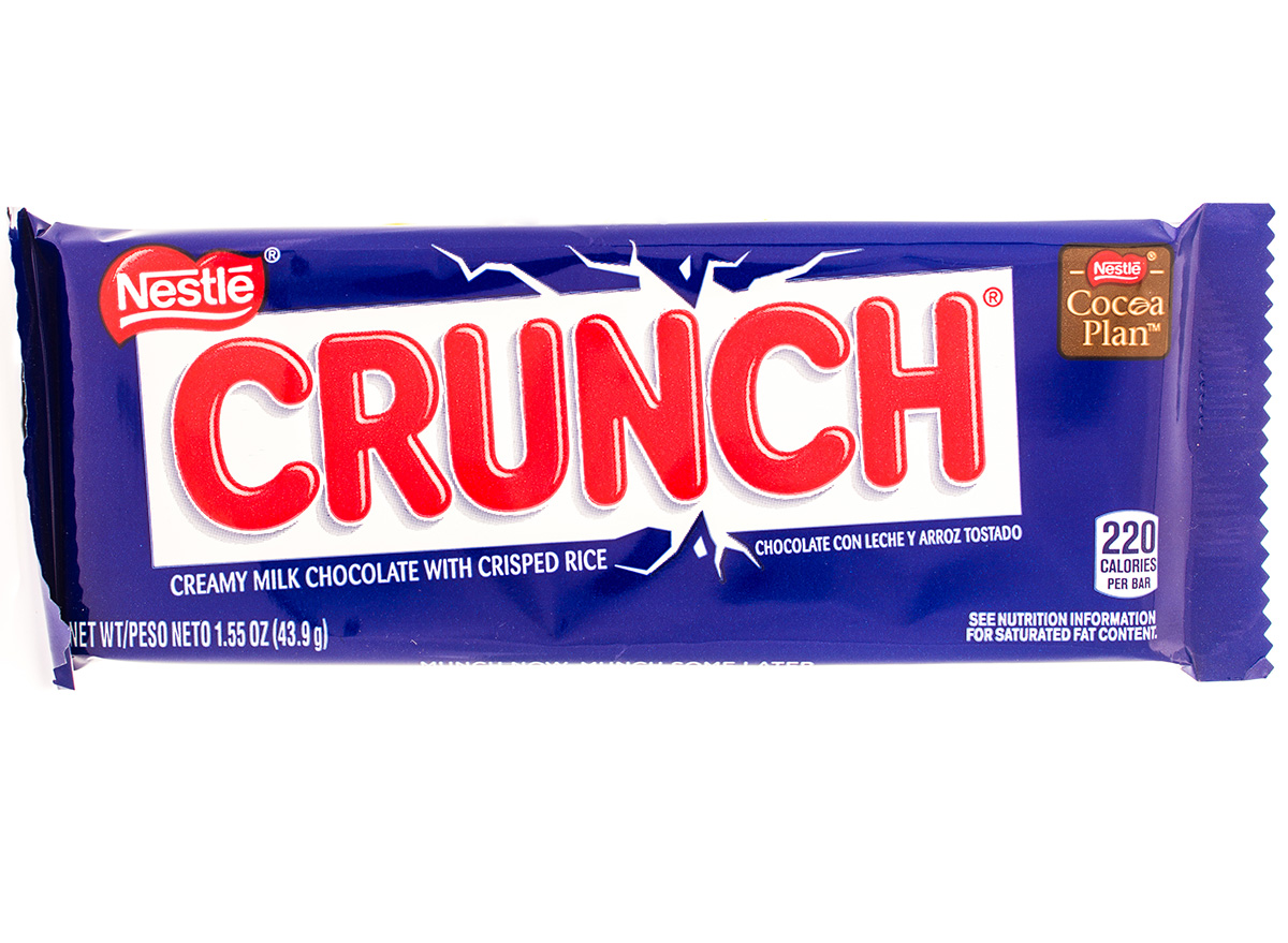 crunch bar wrapped