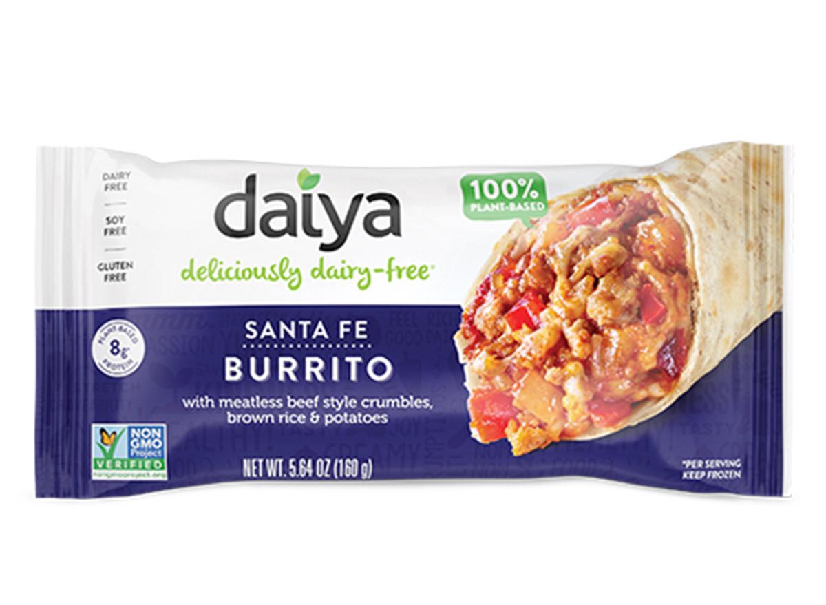 daiya dairy free burrito in package