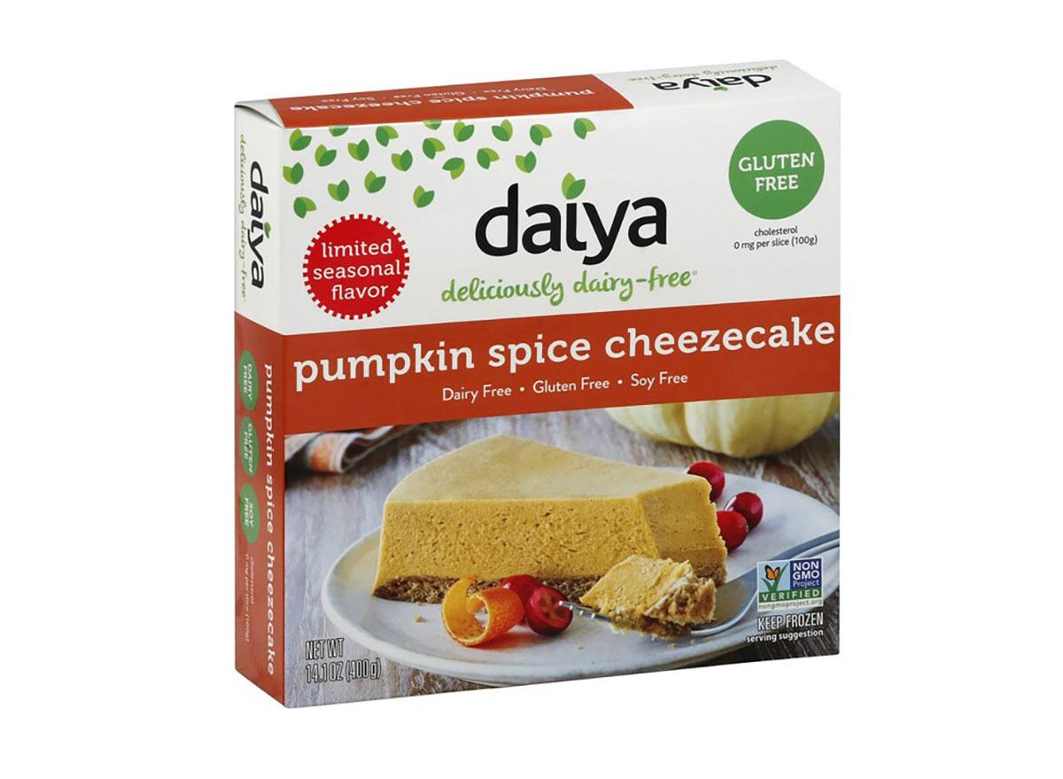 daiya pumpkin spice cheezecake