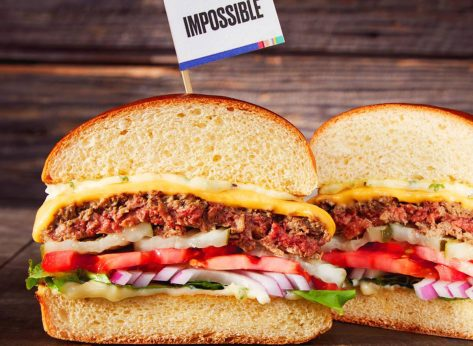 dave and busters impossible burger