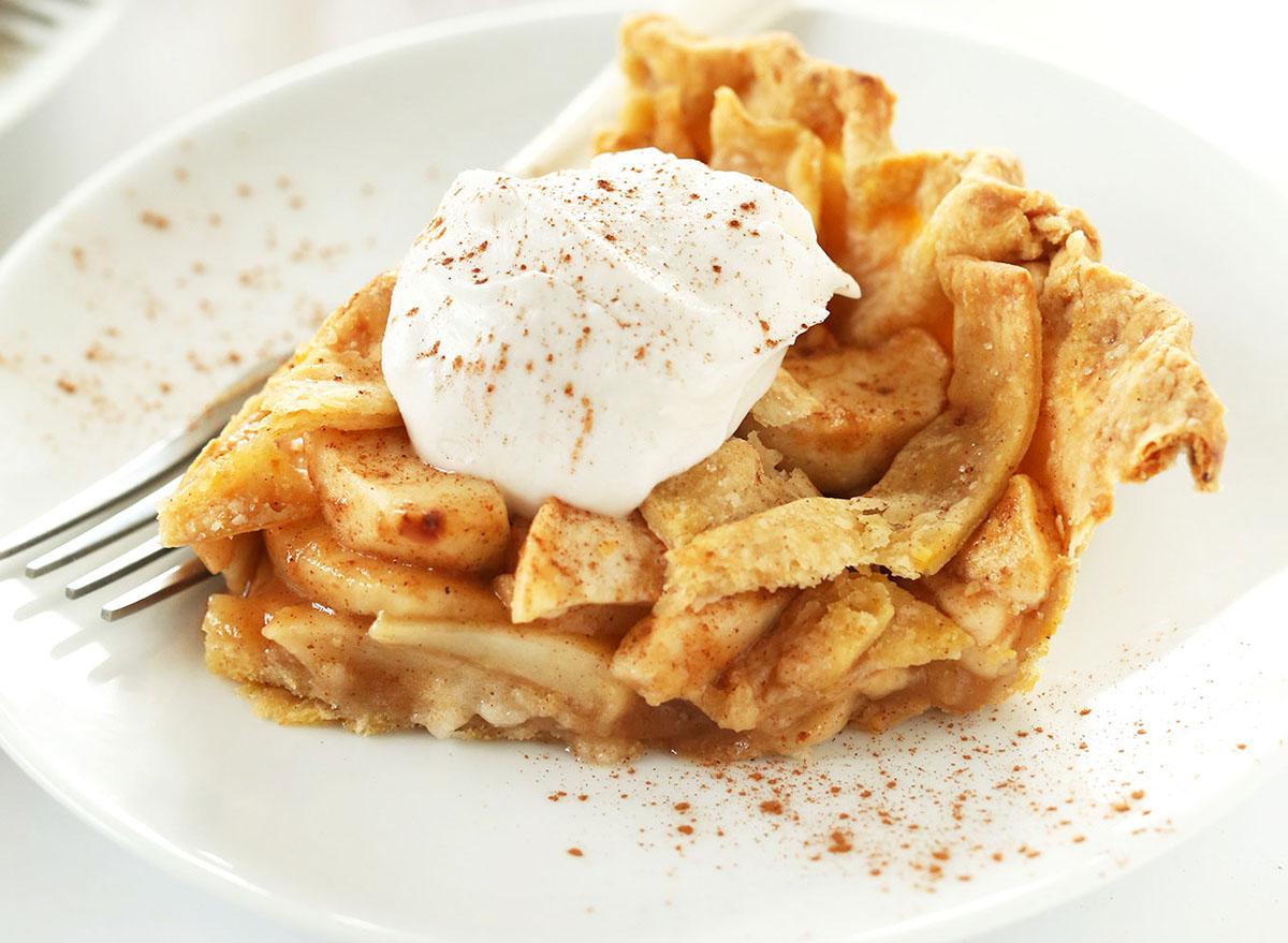 dessert pumpkin spiced apple pie