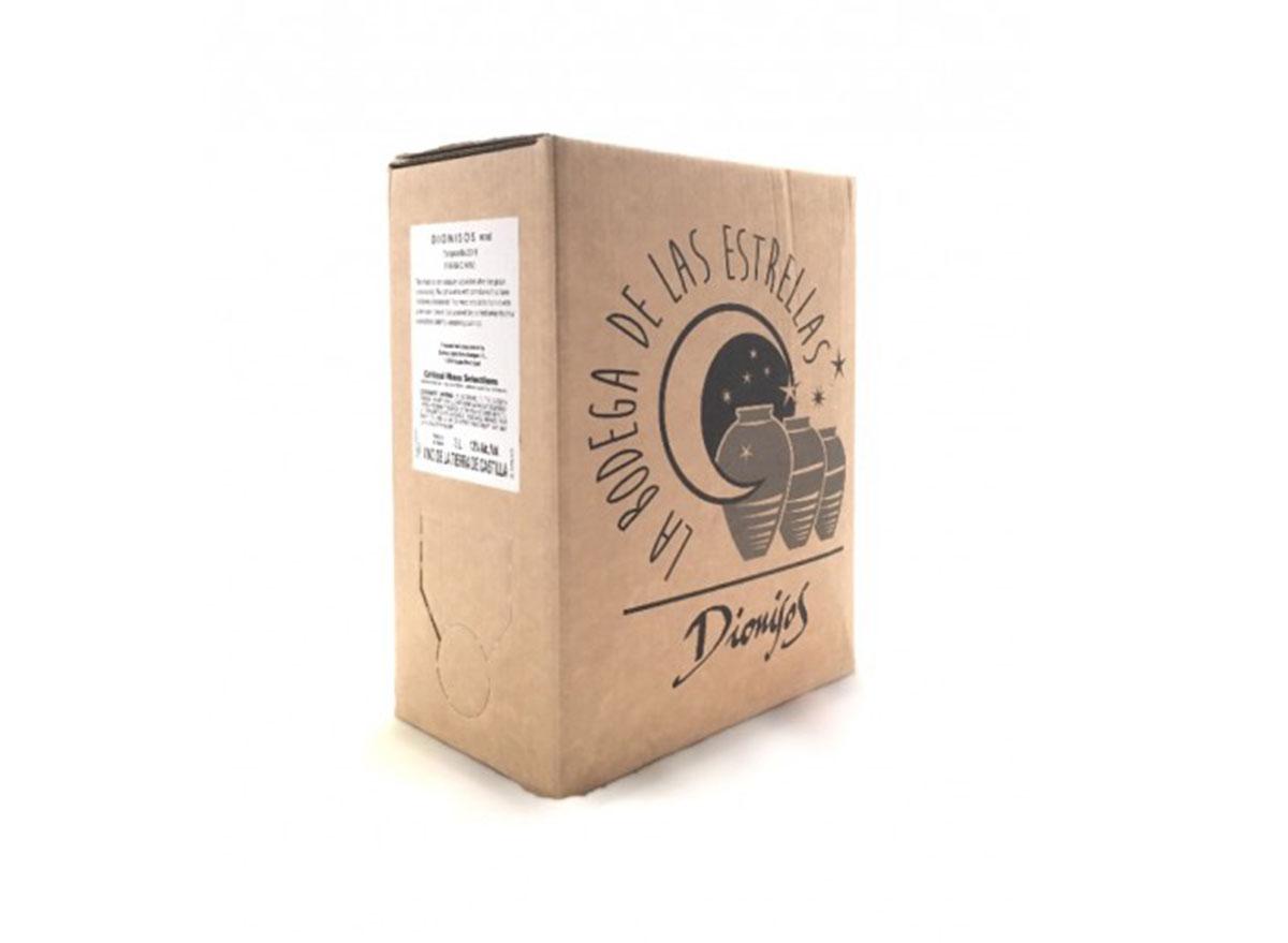 Dionisos tempranillo boxed wine