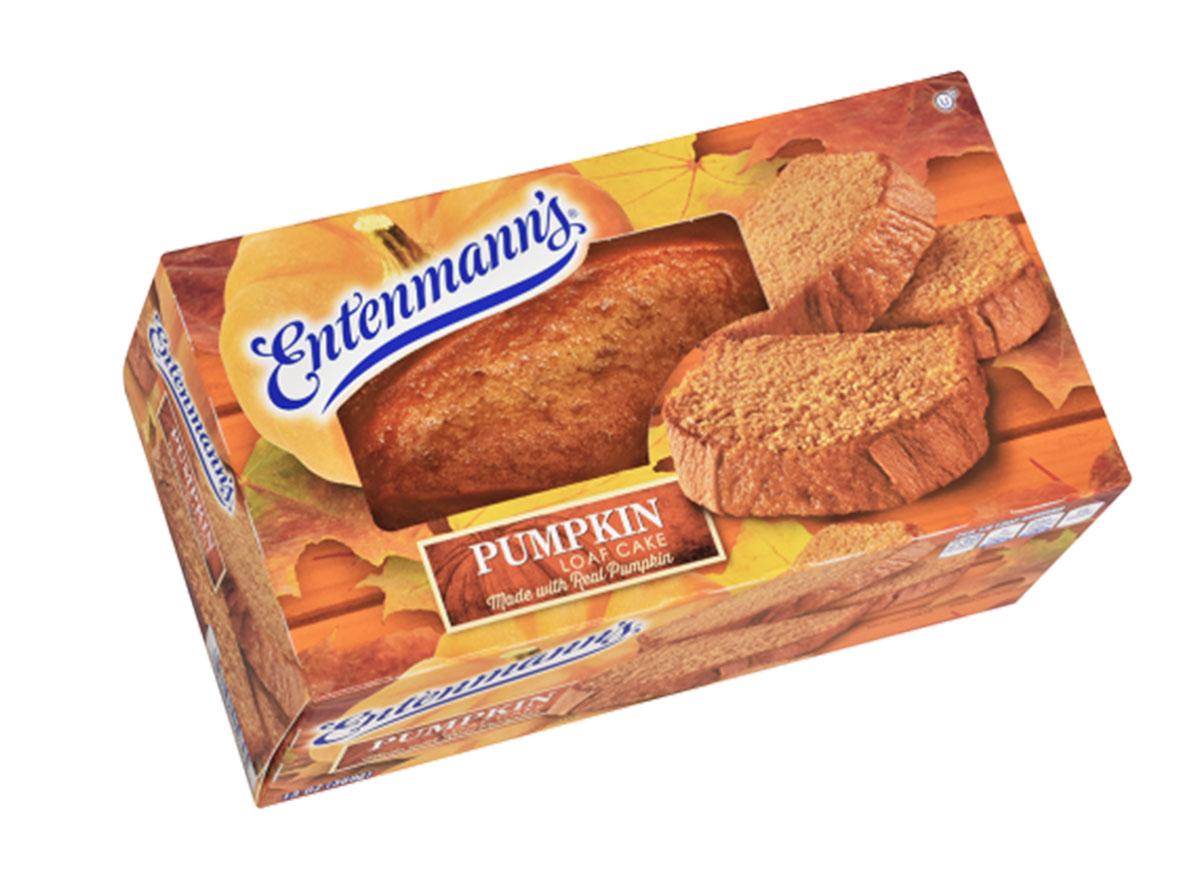 entenmanns pumpkin loaf cake