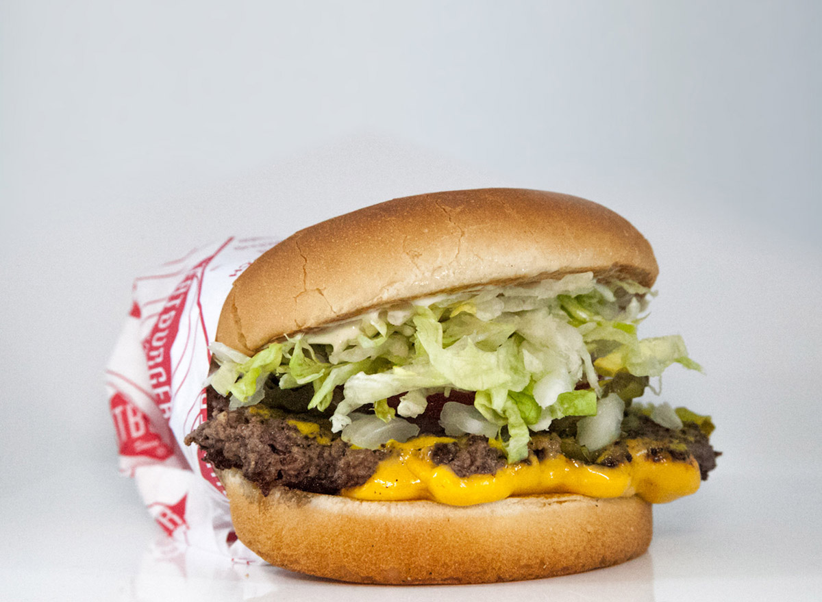 fatburger impossible fatburger in paper wrapping plant based fast food