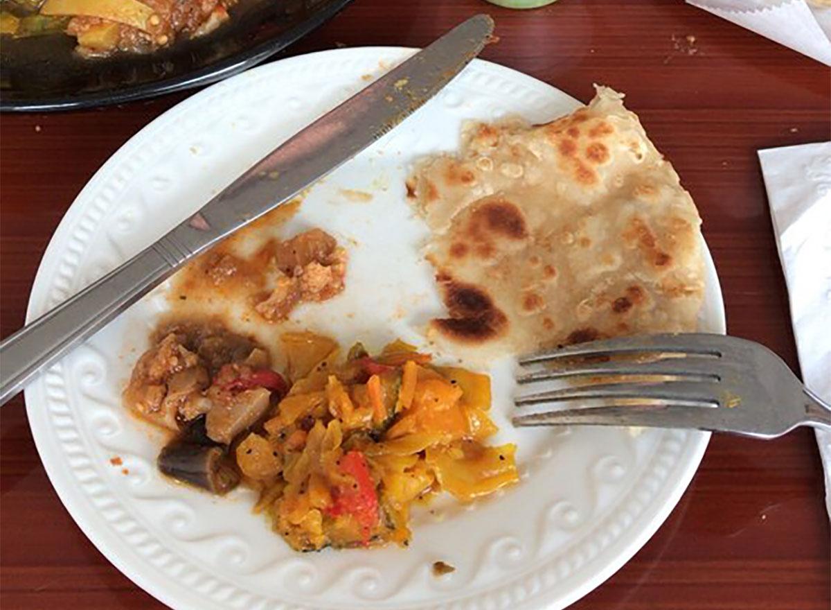 chapatti from fatimas cafe massachusetts