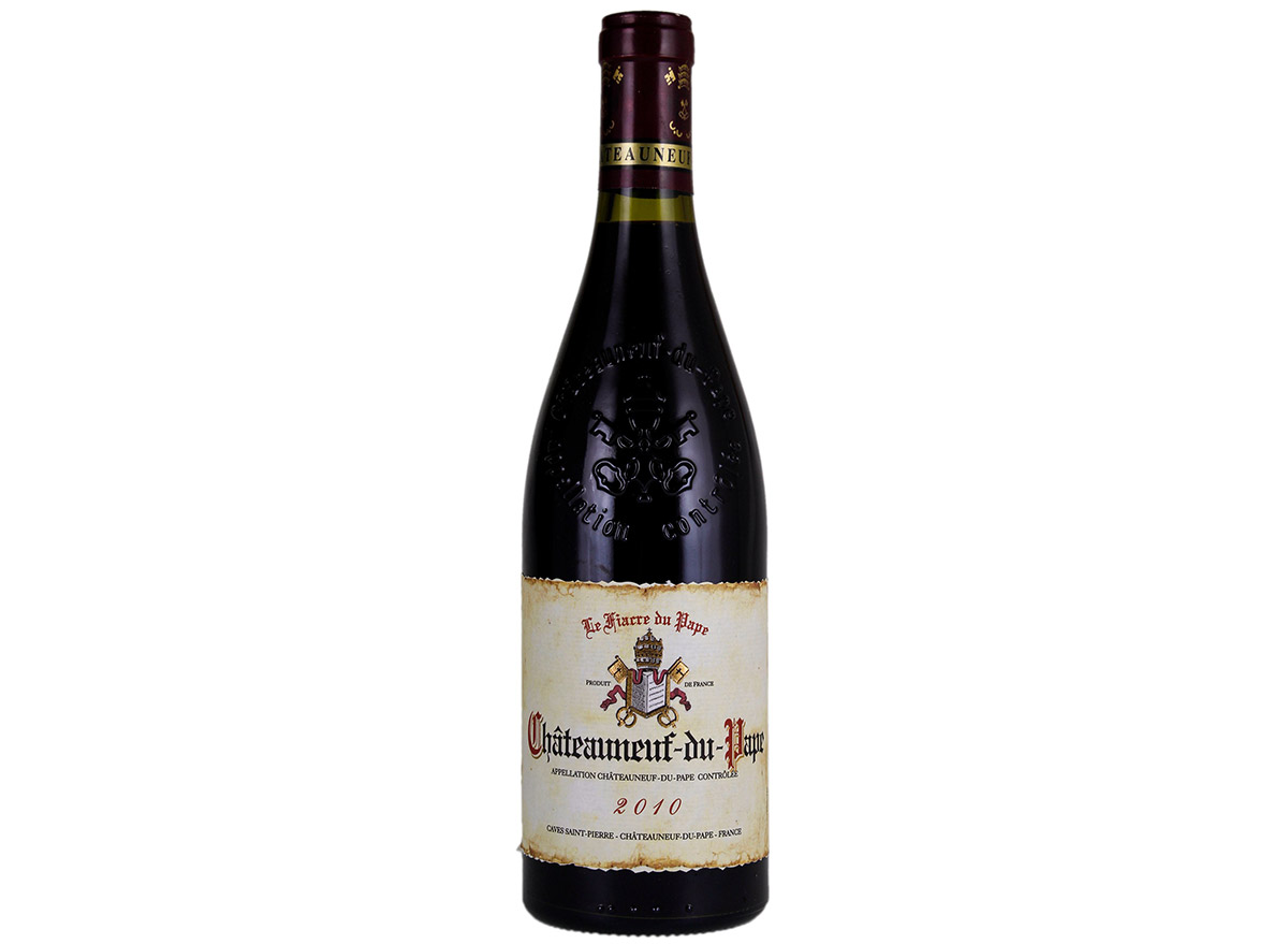 fiarre chateauneuf in bottle