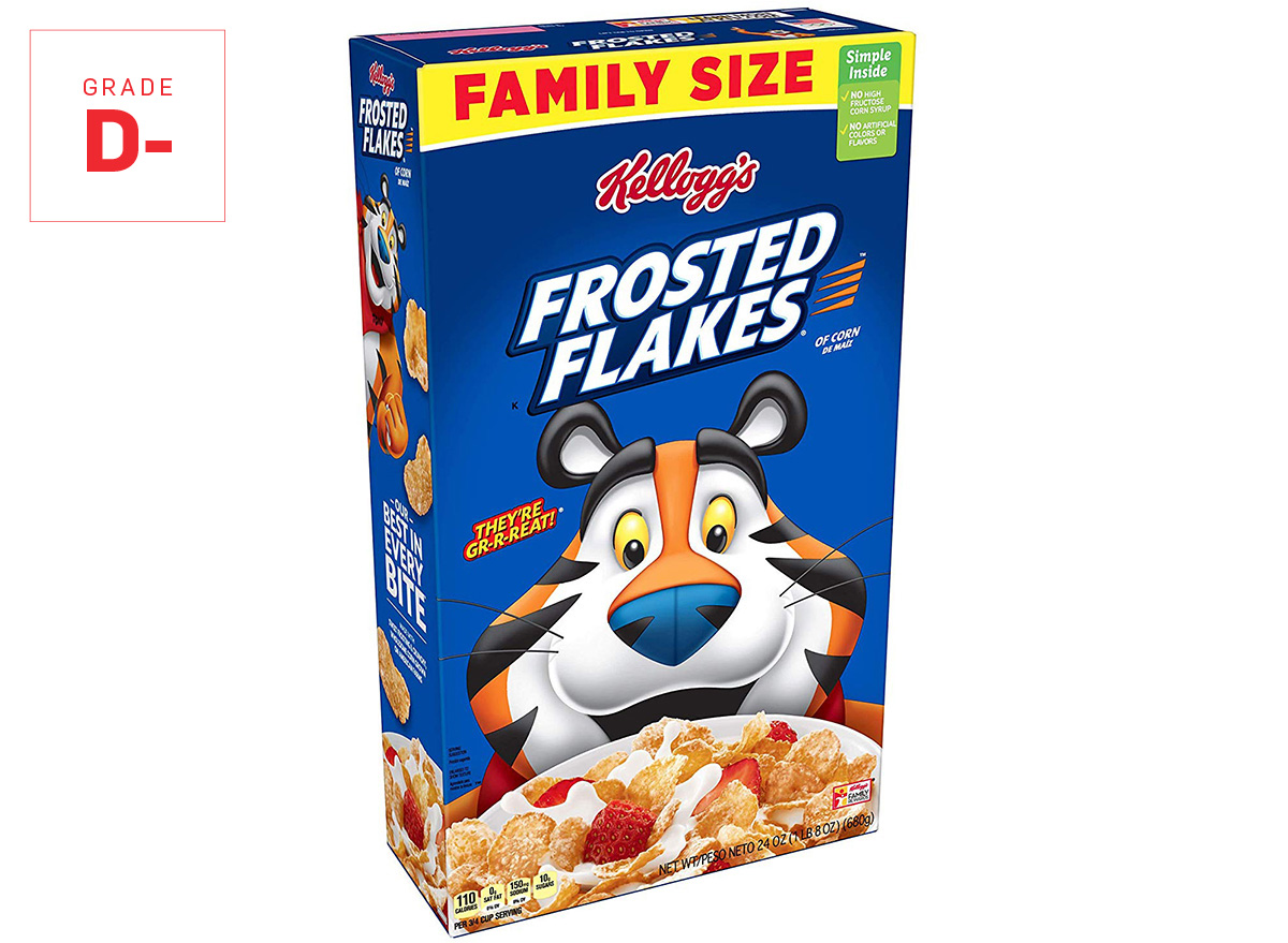 frosted flakes graded