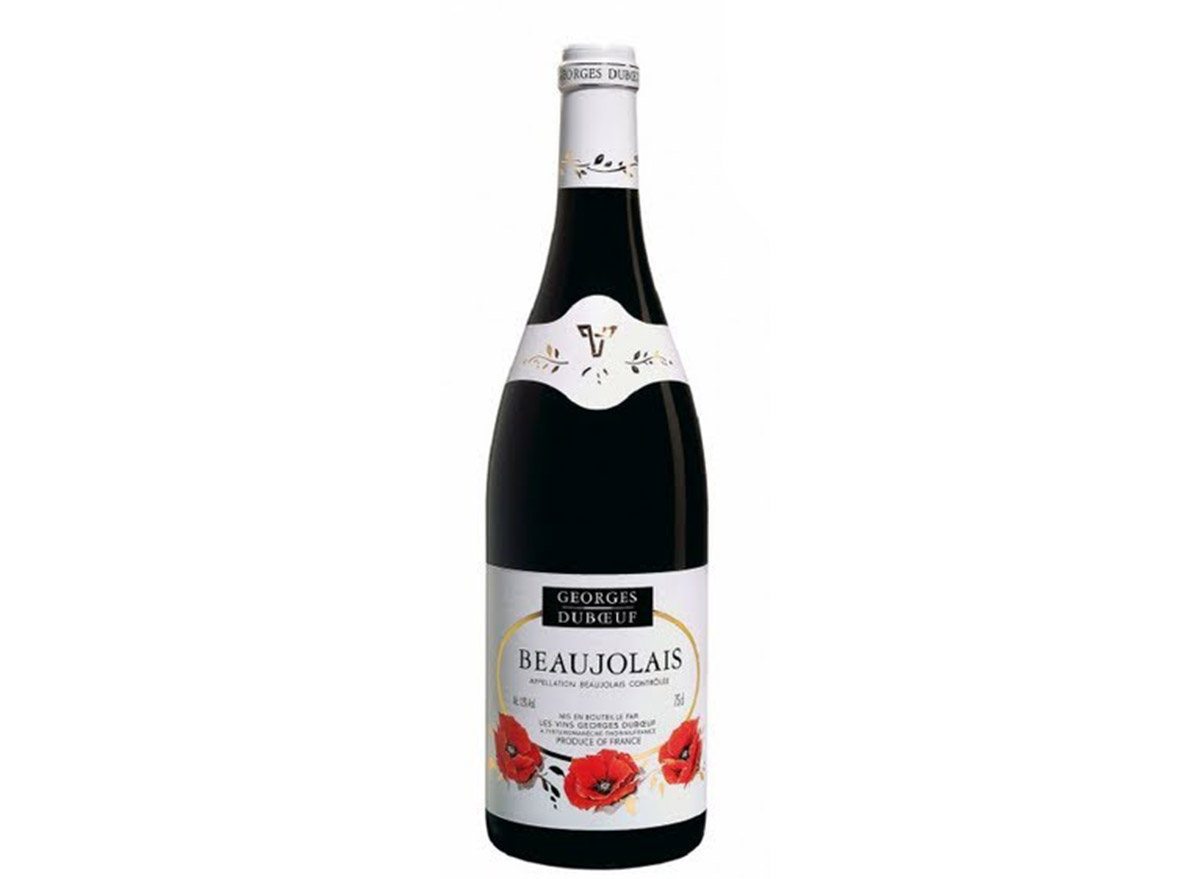 goerges duboeuf beaujolais in bottle
