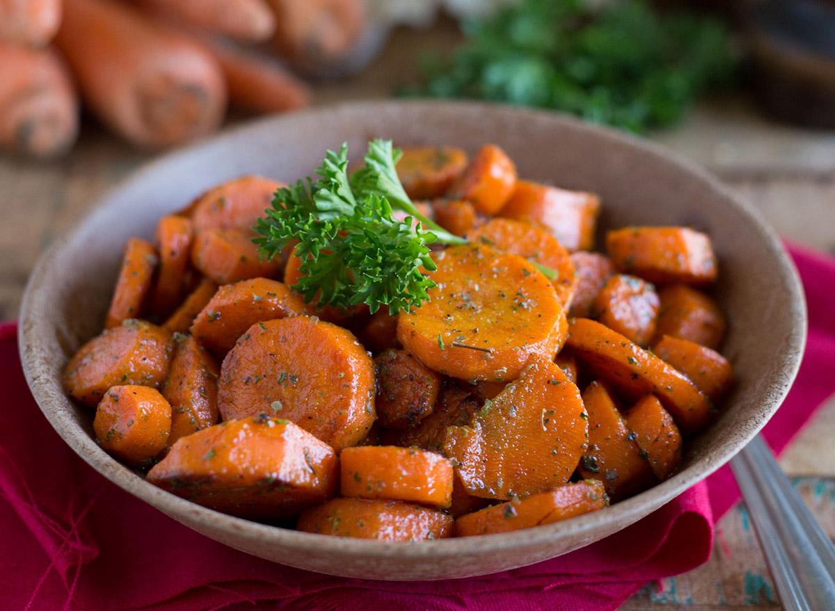 glazed carrots rosemary and ranch glazed carrots