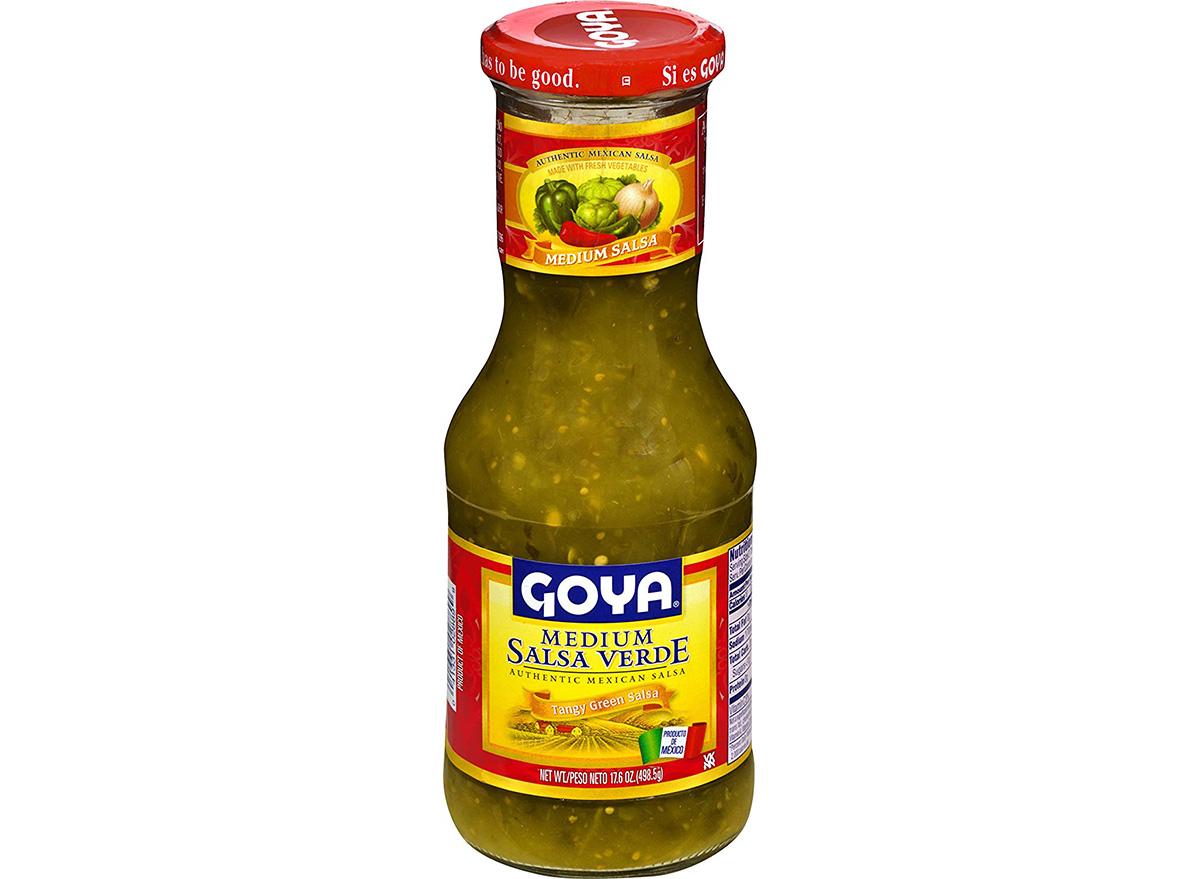 goya medium salsa verde in jar