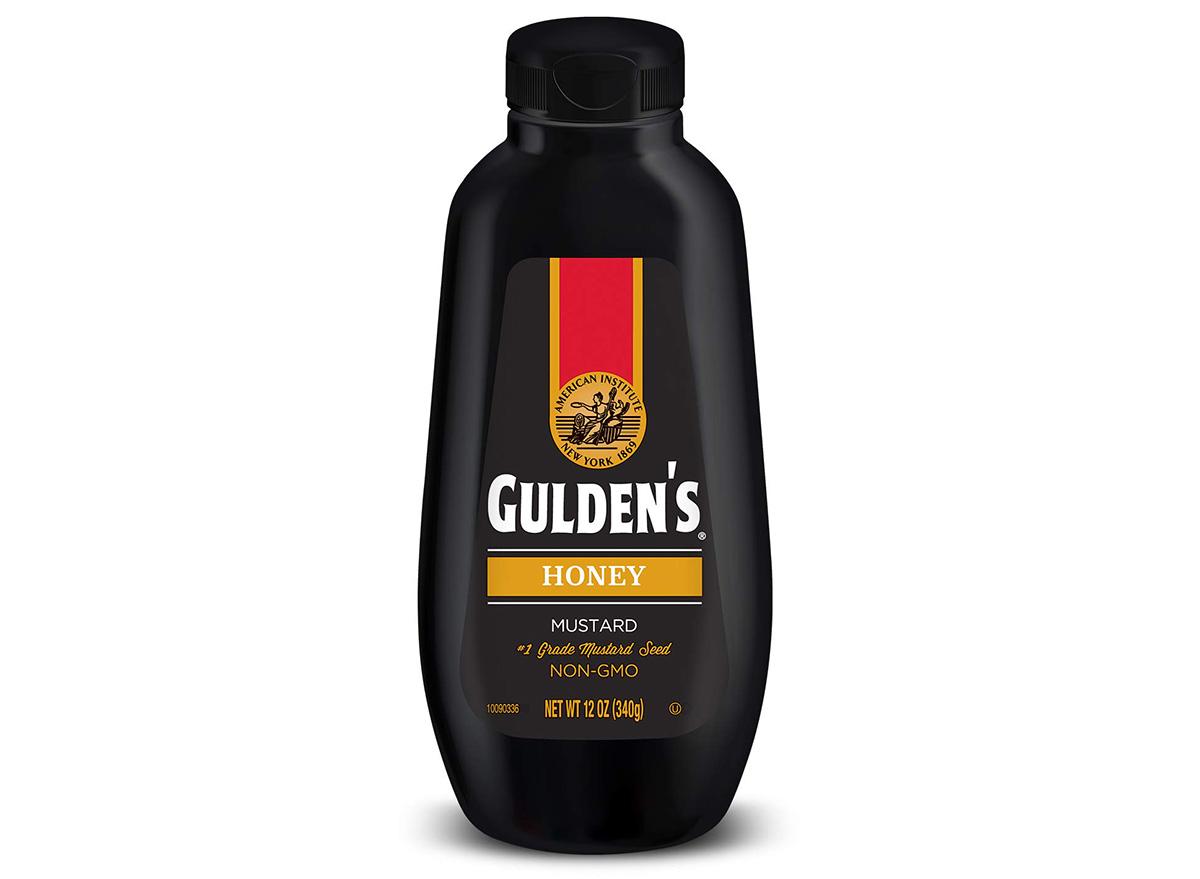 guldens honey mustard in container