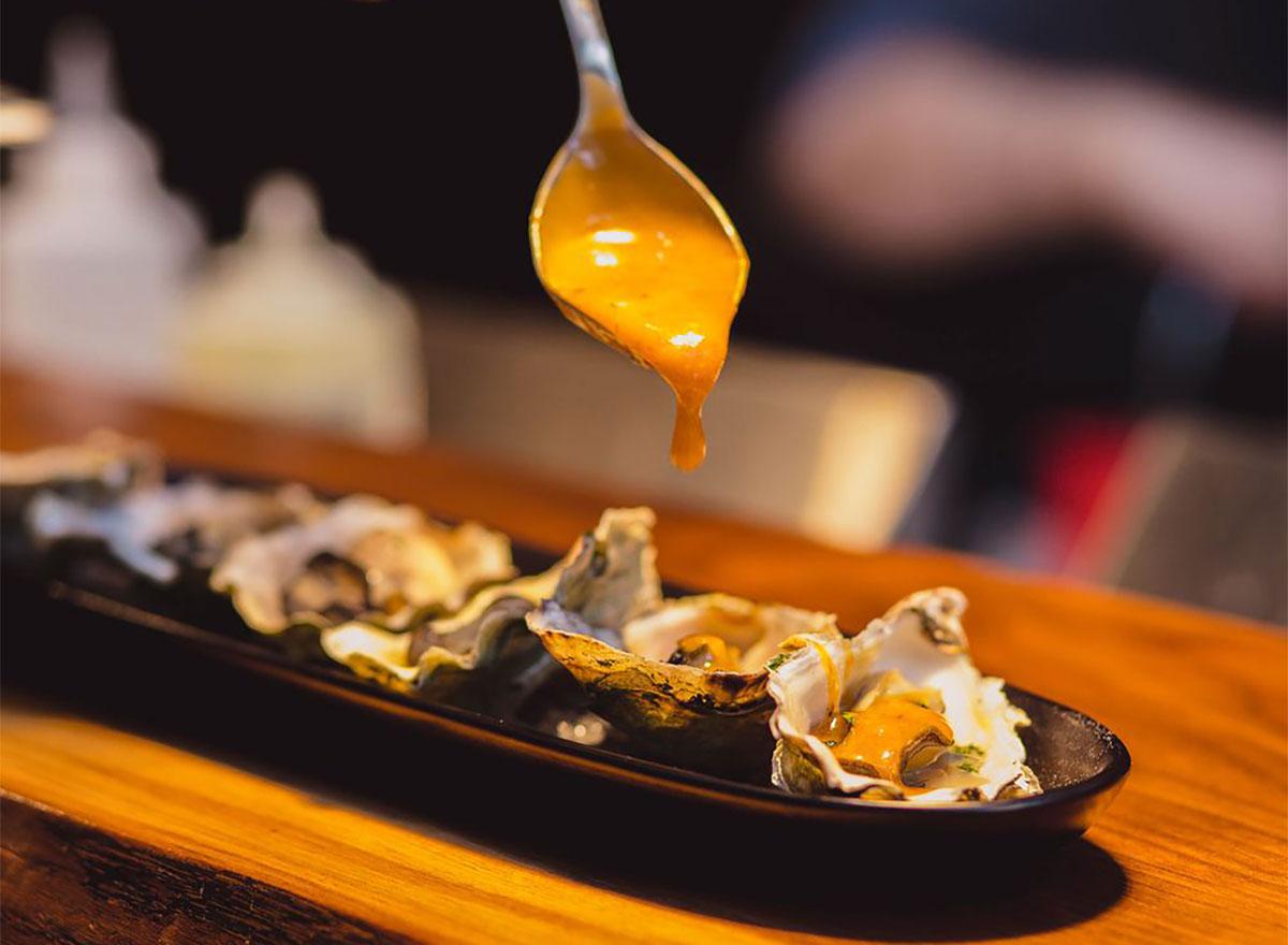 oysters at hattaways in washington