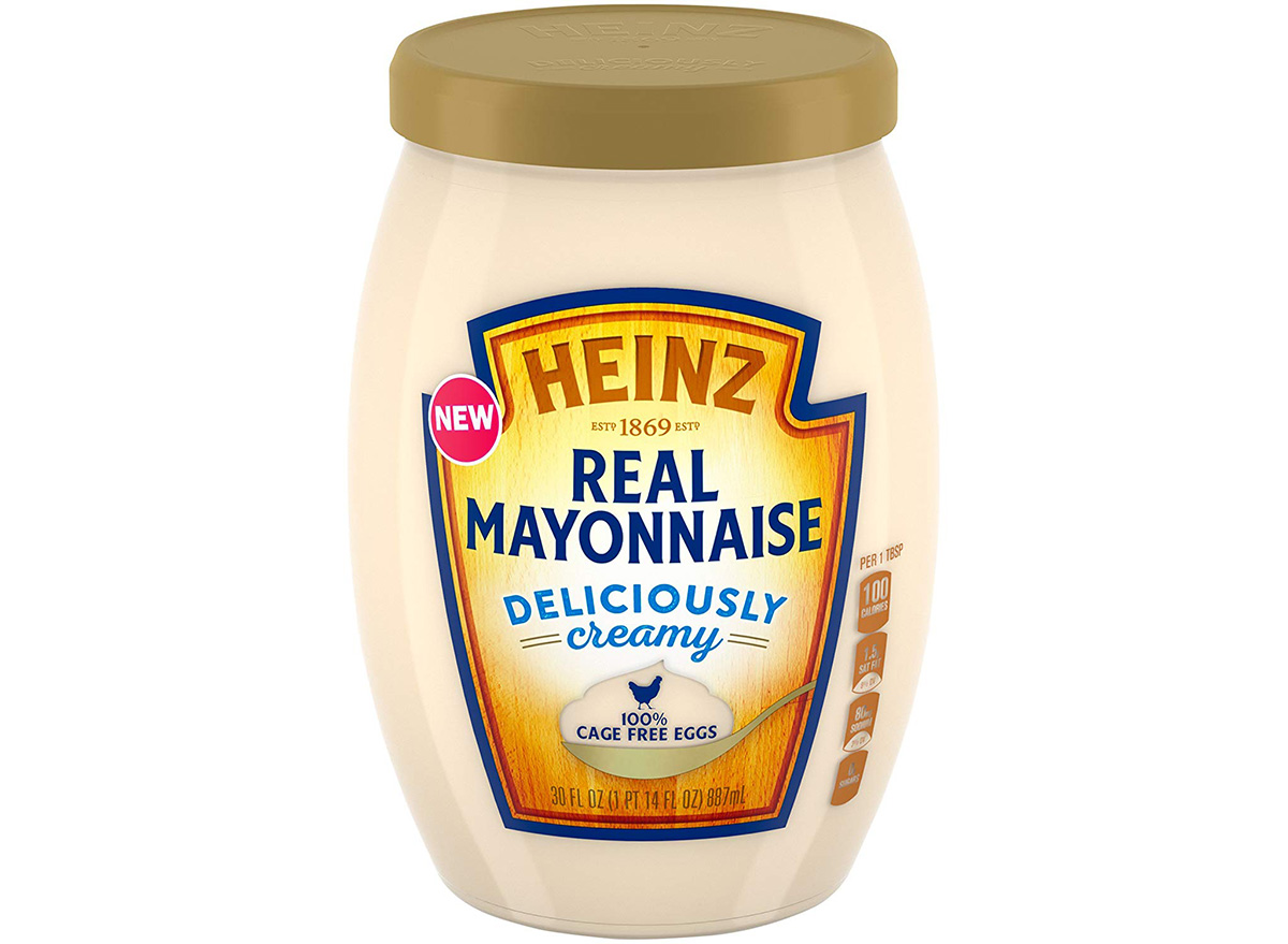 heinz real mayonnaise in packaging